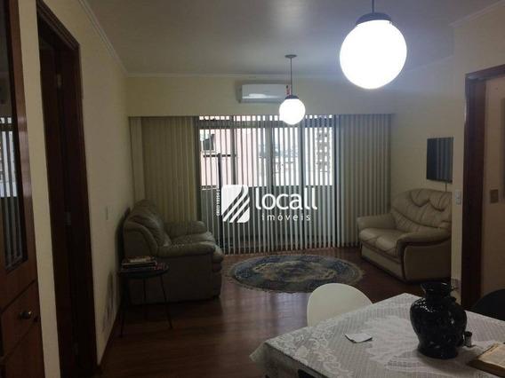 Apartamento Com 3 Dormitórios À Venda, 140 M² Por R$ 360.000 - Centro - São José Do Rio Preto/sp - Ap1559