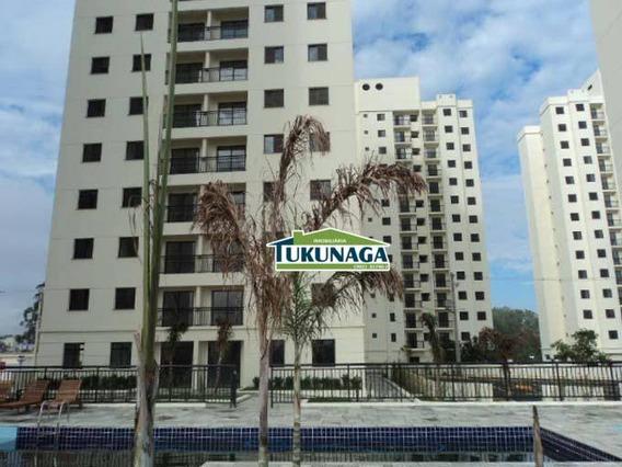 Apartamento Residencial Para Locação, Vila Rio De Janeiro, Guarulhos - Ap1494. - Ap1494