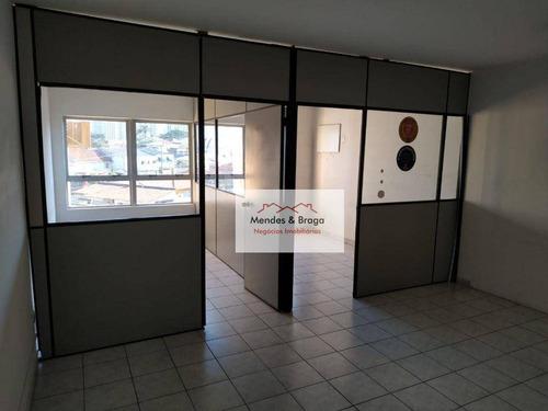 Imagem 1 de 6 de Sala À Venda, 56 M² Por R$ 223.000,00 - Vila Pedro Moreira - Guarulhos/sp - Sa0015