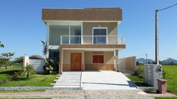 Ótima Casa No Alphaville I Em Maricá. - Ca0397