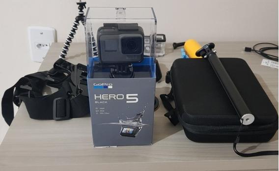 Gopro 5 Hero Back + Acessórios Novos