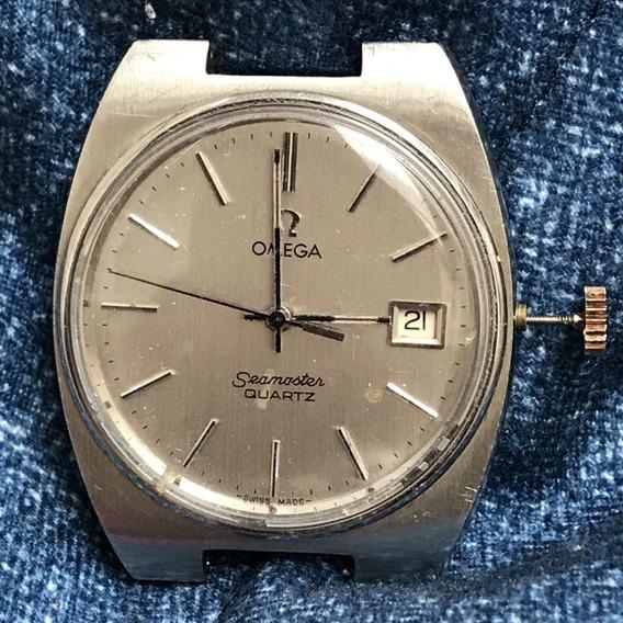 Relógio Omega Seamaster Quartz Cal. 1342 P/ Conserto - Peças