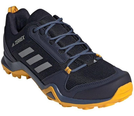 Tênis Trak adidas Masculino Terrex Ax3 G26563 Adventure Azul