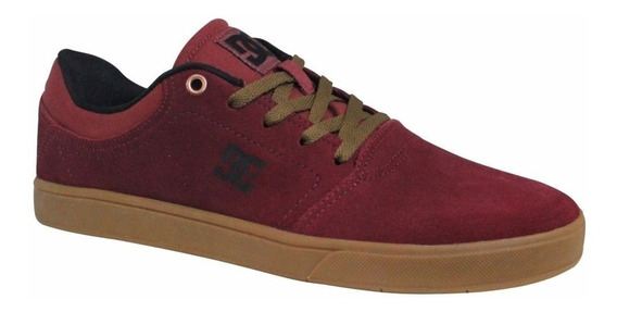 Tênis Dc Shoes Crisis La Bordo Camurça Original Com Nota