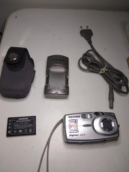 Carregador Sbc-l3 Câmera 4.1 Samsung U-ca4 Ler Descrição.