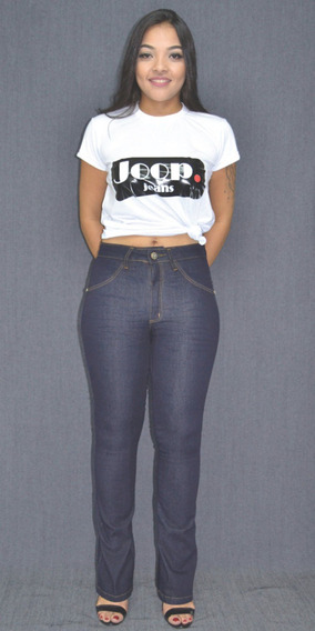 Calça Jeans Flare Básica Escura (ref. 7621n)