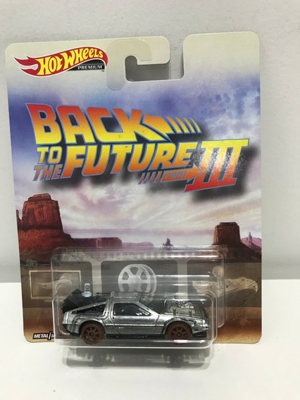 Hot Wheels Premium Back To The Future Iii - 1955 Rodas Trem