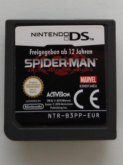 Spider Man Shattered Dimensions, Ds, Eur