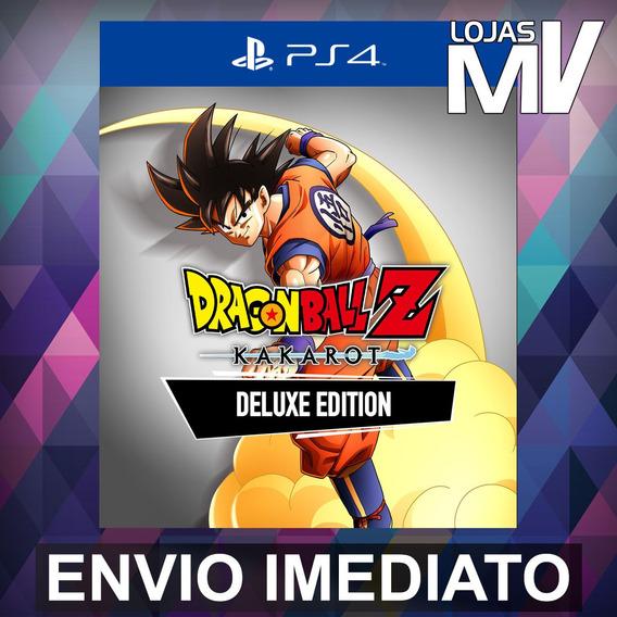 Dragon Ball Z Kakarot Ed De Luxo - Ps4 Código 12 Dígitos
