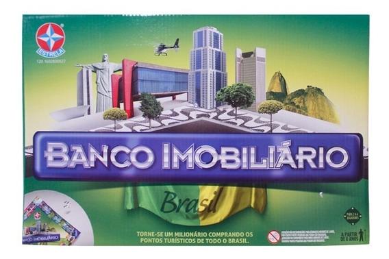 Brinquedo Novo Lacrado Banco Imobiliário Brasil Da Estrela