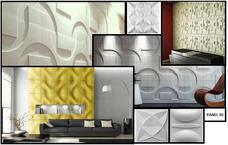 Paneles De Yeso Cemento 3d Para Paredes Y Techos M2