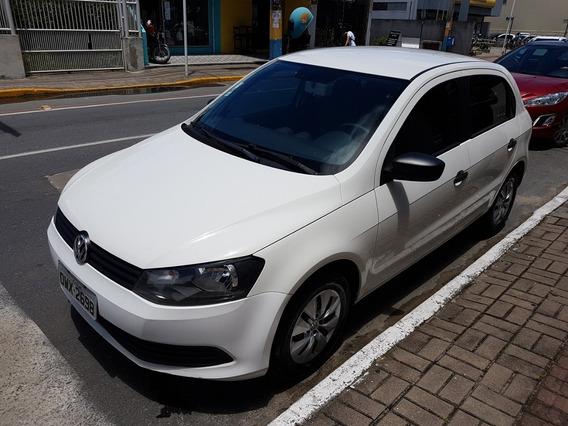 Volkswagen Gol G6 1.0 2014, Ar Condicionado, Dvd, Troca