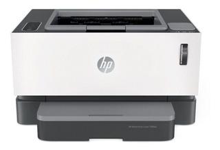 Impresora HP Neverstop 1000W con wifi 220V - 240V blanca y gris