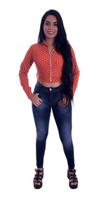 Jaqueta Cropped Bomber Roupa Feminina Inverno Blogueira #jc