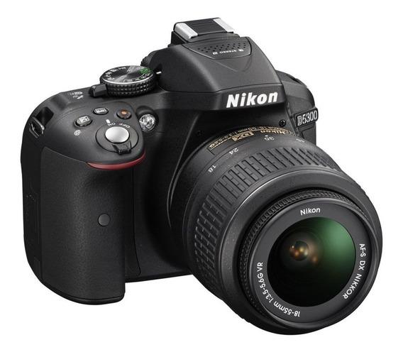 Câmera Digital Nikon D5300 Wi-fi 24.2mp Vídeo Full Hd + Kit