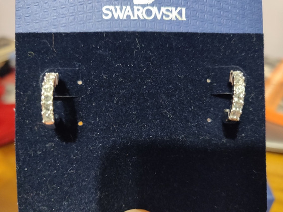 Aros Argolla Swarovski. 7 Piedras Comprados En Usa