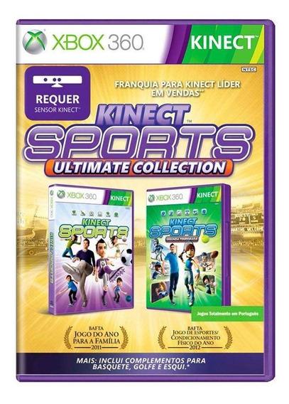 Kinect Sports + Kinect Sports Segunda Temporada Xbox 360