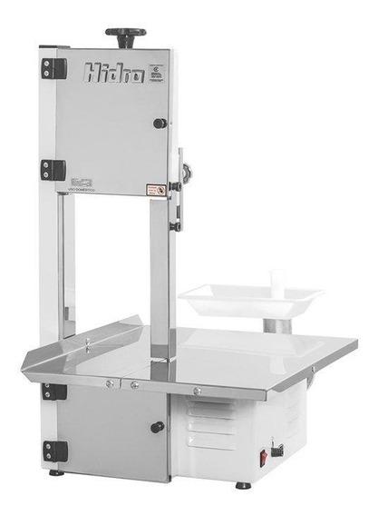 Serra Fita Para Carne Hidro Com Moedor, Inox - Hb800