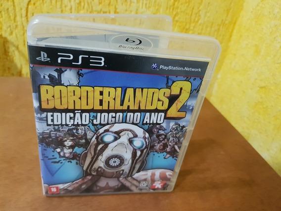 Borderlands 2 Edição Jogo Do Ano Usado Ps3 Mídia Física