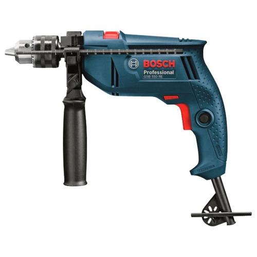 Taladro C/percutor 1/2  550w. Bosch Gsb550re