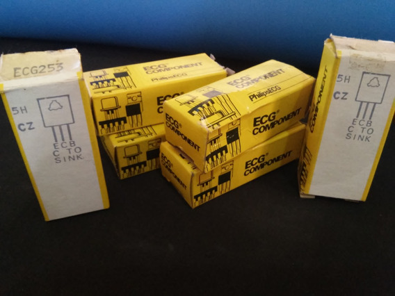 Ecg Transistor / Philips Ecg253