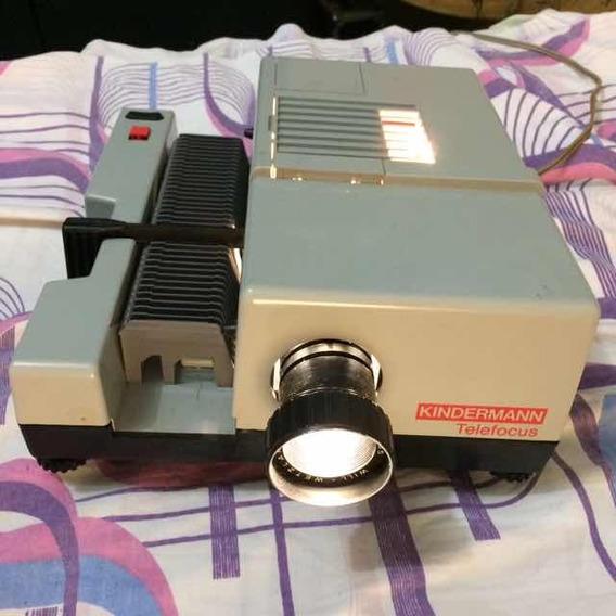 Projetor Antigo Kindermann Telefocus Made In Germany Defeito
