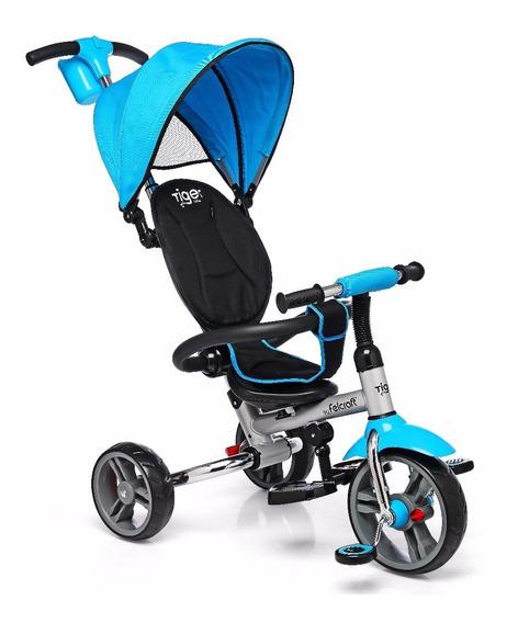 Triciclo Infantil Bebe Plegable Manija Direccional Reforzado