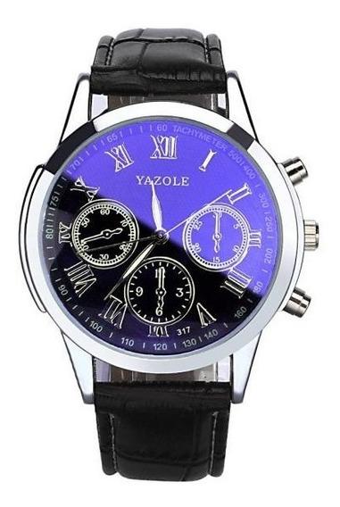 Relógio De Pulso Masculino Yazole Quartz