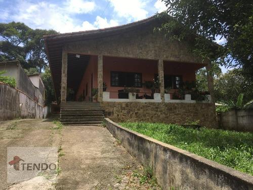 Chácara 1100 M² - Venda - 4 Dormitórios - 1 Suíte - Quarta Divisão - Ribeirão Pires/sp - Ch0068