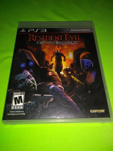 Resident Evil Operatión Raccoon City Juego Ps3 Fisico