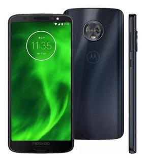 Celular Motorola Moto G6 Xt1925 32gb 12mpx Capinha+pelicula