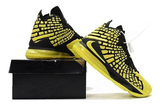 Zapatillas Nike Lebron 17 Yellow 60$