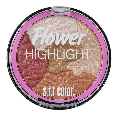 Iluminador S.f.r. Color Highlight Flower 5 Tonalidades