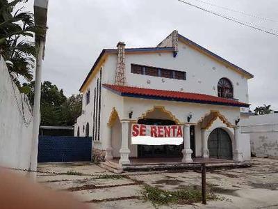 Renta De Casona Colonial En Prolongación De Paseo Montejo