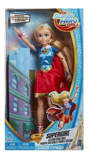 Dc Super Hero Girls Muñeca Superchica Gigante 45cm