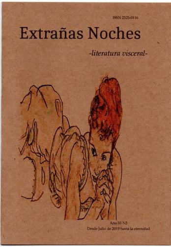 Imagen 1 de 2 de Revista Extrañas Noches -literatura Visceral- Número 5