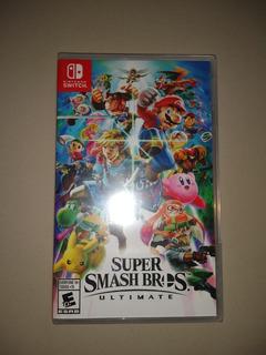 Super Smash Bros - Nuevo Y Sellado - Switch - Manvicio Store