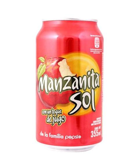 Manzanita Sol Refresco Pack Con 24 Latas De 350ml