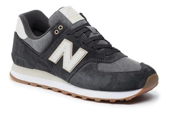 Zaptillas New Balance 574 - Negro