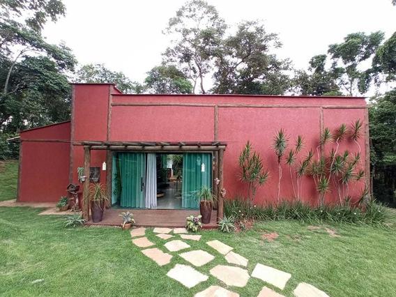 Casa Em Condomínio Com 3 Quartos Para Comprar No Condomínio Aldeia Da Cachoeira Das Pedras Em Brumadinho/mg - 1872
