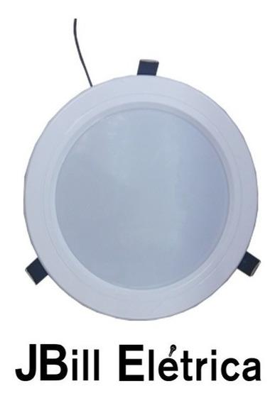 Luminaria Spot Led 11w Embutir 14,5cm Branco Quente Kit 3pçs