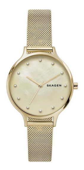 Relógio Skagen Anita Feminino Dourado Skw2774/1dn