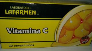 Vitamina C Lafarmen 500mg X 30 Comprimidos