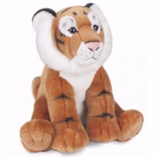 Tigre Marrom De Pelúcia! Felino De Pelúcia Selvagem!
