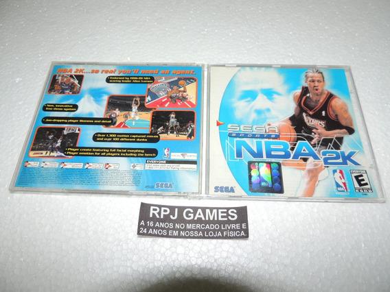 Nba 2k Original Completo P/ Dreamcast - Loja Centro Rj