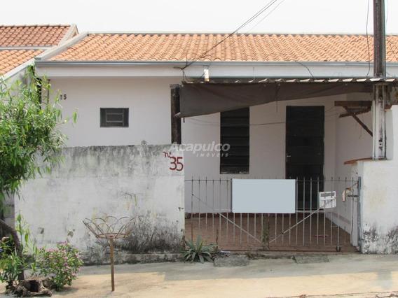 Casa Para Aluguel, 2 Quartos, 1 Vaga, Vila Bertini - Americana/sp - 10719