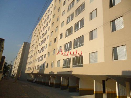 Apartamento Com 3 Dormitórios À Venda, 63 M² Por R$ 250.000 - Jardim Utinga - Santo André/sp - Ap1763