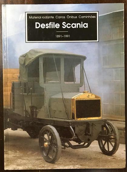Livro Desfile Scania Raridade Catalogo,folder,prospecto,prop