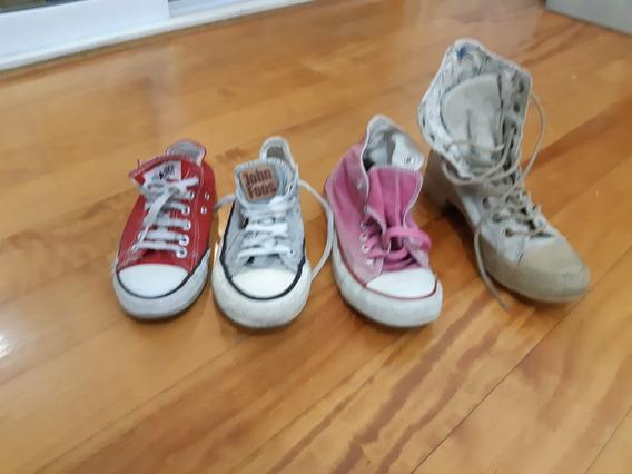 Zapatillas Allstars-converse-john F., Rosa, Jean, Rojas,cuer