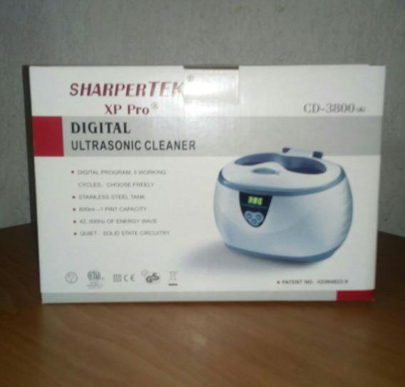 Limpiador Ultrasónico Digital Para Limpieza De Joyería